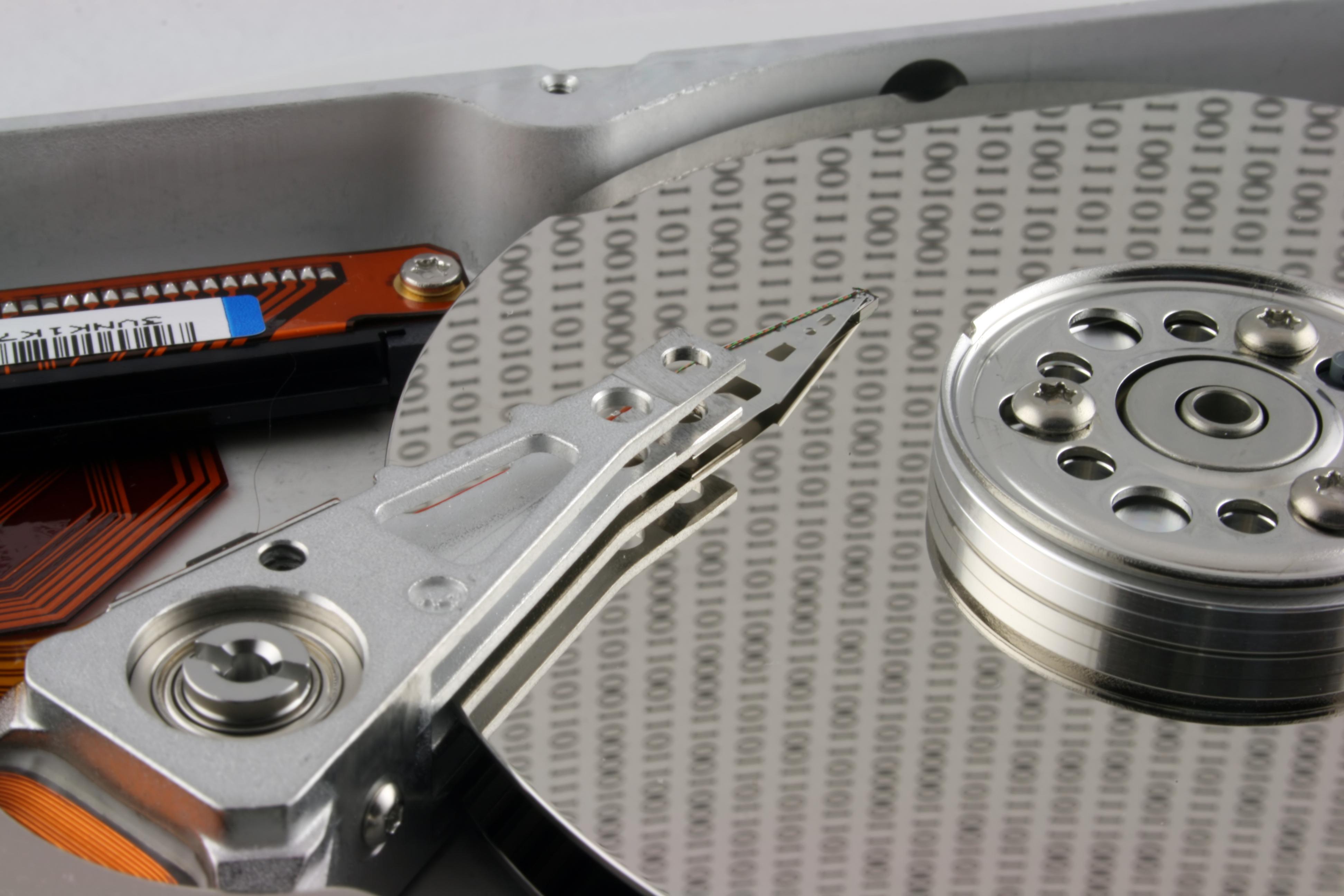 Dataredning er også at hente data ud fra defekter harddiske