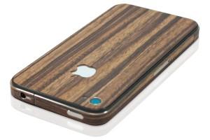 iPhone cover med trælook